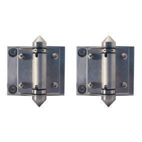 Glass - Glass S/S 316 Spring Hinge Kit