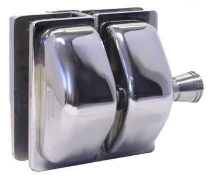 Glass - Glass 180 Deg STAINLESS Side Pull Latch Kit S/S 316 Satin or Polish