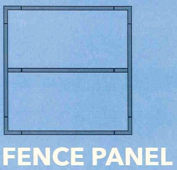 Panel Frame 2500mm Wide x 1800mm High