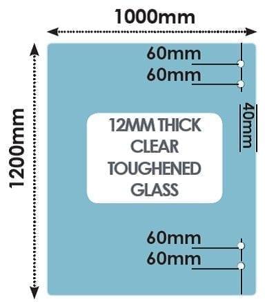 HINGE Panel 1000mm x 1200mm x 12mm