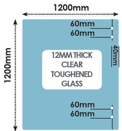 HINGE Panel 1200mm x 1200mm x 12mm