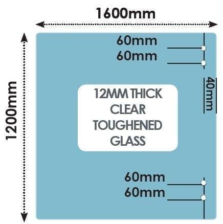 HINGE Panel 1600mm x 1200mm x 12mm