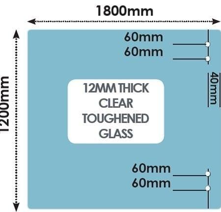 HINGE Panel 1800mm x 1200mm x 12mm