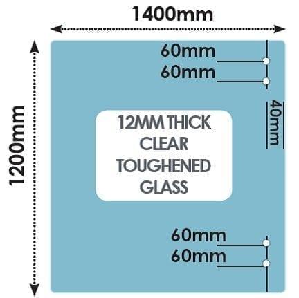 HINGE Panel 1400mm x 1200mm x 12mm