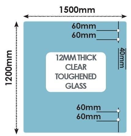HINGE Panel 1500mm x 1200mm x 12mm