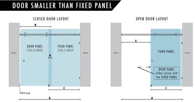 800mm Door Smaller