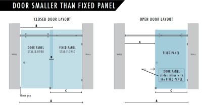 900mm Door Smaller
