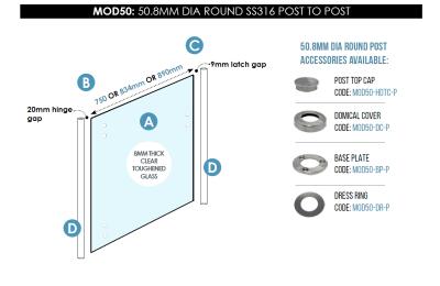 MOD50-50.8mm Round