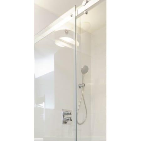 Shower Screens - Sliding Door Rail System Available in Polish & Matt Black